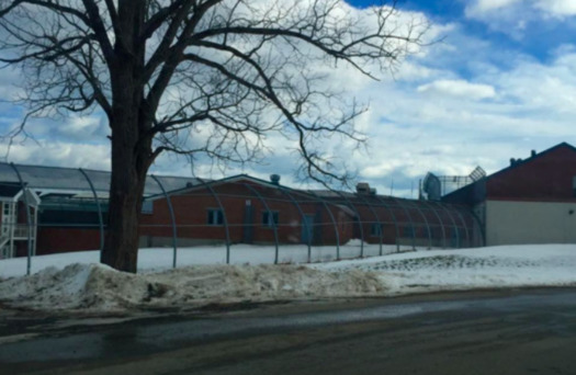 More than half of the young people detained at Long Creek, the state's only juvenile-corrections facility, are there simply because they need care and have nowhere else to go, according to a Maine Juvenile Justice Task Force report released in February. (Christopher Poulos/Facebook)