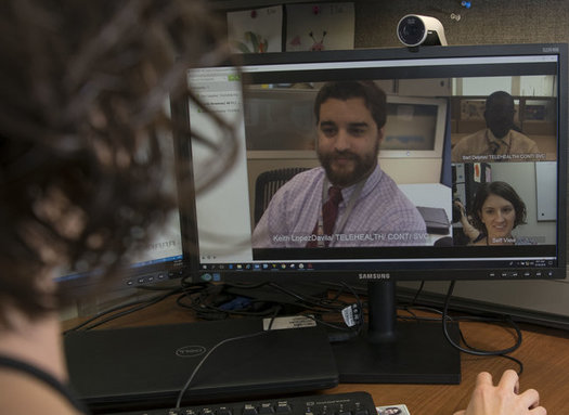 Telehealth is expanding rapidly during the pandemic and may remain popular as the nation recovers. (jsba.mil)