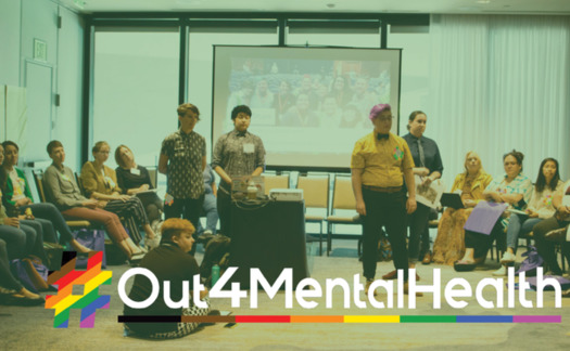 The Out 4 Mental Health virtual town halls are a chance for members of the LGBTQ+ community to voice their experiences of the pandemic. (CALGBTQ Health and Human Services)
