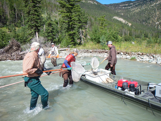 The Good Neighbor Agreement between a mining company and Montana conservation groups ensures citizen oversight of water quality. (Northern Plains Resource Council)