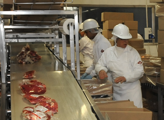 President Donald Trump recently signed an executive order to prevent meatpacking plants from closing and keep food supply chains open. (Flickr)