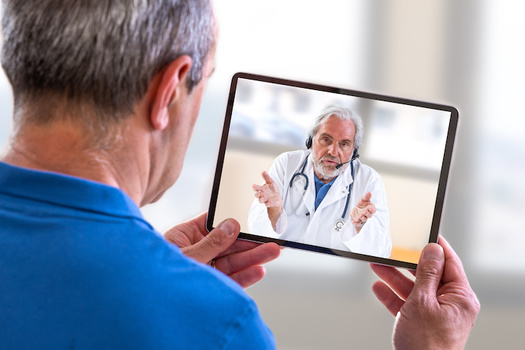 The U.S. Department of Veterans Affairs says more veterans are relying on telehealth appointments to communicate with their health care providers. (Adobe Stock)