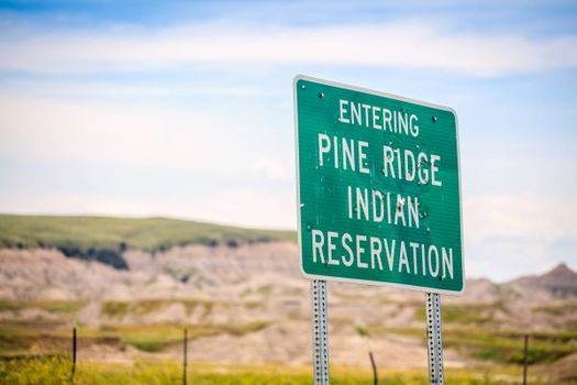 The Oglala Sioux Tribe in Pine Ridge reported two positive cases of COVID-19 this week. (Adobe Stock)