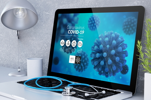 A new COVID symptom tracker makes recommendations if you think you have the coronavirus. (Adobe stock)