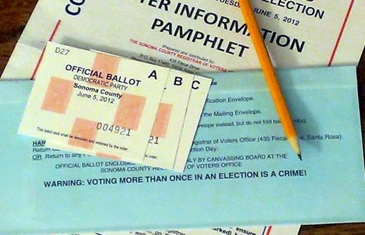 It would take a constitutional amendment to make no-excuse absentee ballots or permanent absentee status possible for voters in Connecticut. (Flickr)