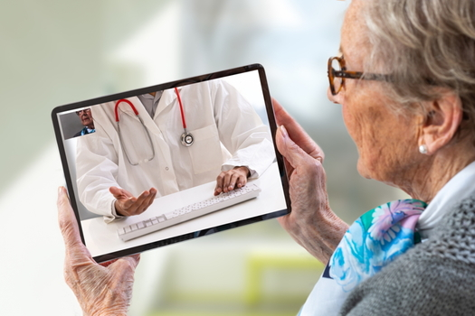 Virginia has seen a 300% increase in the use of telehealth over the last few months, according to a UnitedHealthcare spokesperson. (Adobe stock)