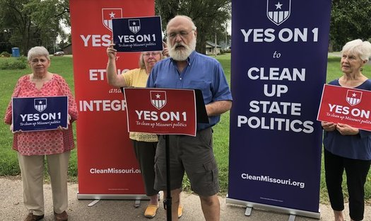 Missouri's House of Representatives is poised to vote on whether to put an initiative on the November ballot that effectively would gut 2018's successful Amendment 1. (Benjamin Singer/Clean Missouri)