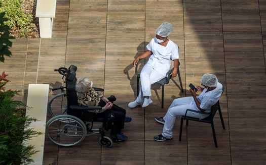 According to the Kaiser Family Foundation, long-term care facilities account for nearly one-third of COVID-19 deaths in most states. (Adobe Stock)