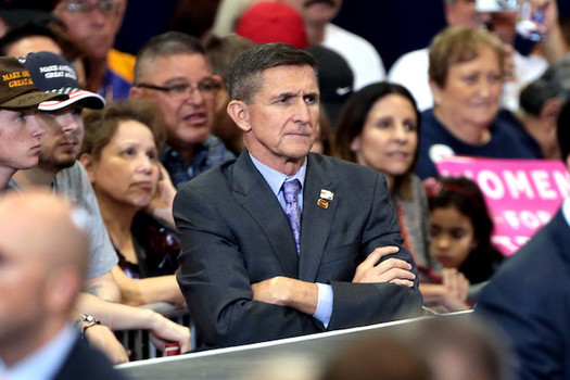 Former national security advisor Michael Flynn admitted that he lied to the FBI during Robert Mueller's Russia investigation. (Gage Skidmore/Flickr)