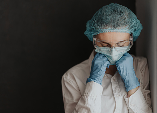 Front line workers are experiencing high levels of stress related to the COVID-19 crisis. (Adobe Stock)