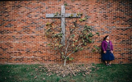 Juana Ortega remains in sanctuary in a church in North Carolina. Her case is highlighted in the film Santuario. (Working Films/WomenAdvaNCe)