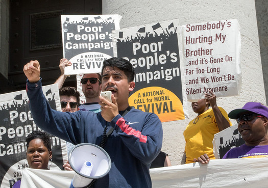 The Ohio Poor People's Campaign is challenging poverty and systemic racism. (Becker1999/Flickr)