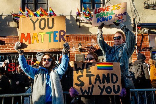 Some advocates contend LGBTQ equality cannot be achieved without fully embracing anti-racism.  (MathiasWasik/Flickr)