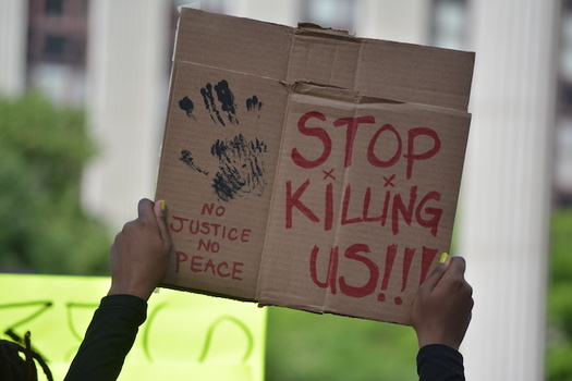 Protesters against racism and police brutality have gathered in cities across Idaho since George Floyd's death. (vivalapenler/Adobe Stock)
