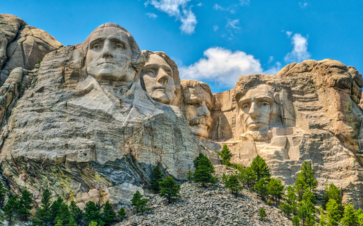 The land on which Mount Rushmore is located was taken from the Lakota Sioux by the U.S. government in the 1800s. (Adobe Stock)