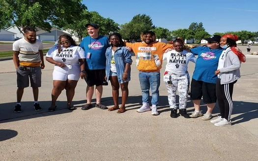 Members of the Black Lives Matter Fargo/Moorhead chapter, which was established in 2016, say Fargo encourages a diverse population but doesn't follow through to welcome the diversity. (Faith Shields-Dixon)