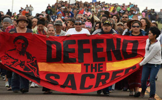The Dakota Access oil pipeline, which began operating in 2017, is just downstream from the Standing Rock Sioux Reservation. The project drew heavy protests while it was being constructed.  (insideclimatenews.org)