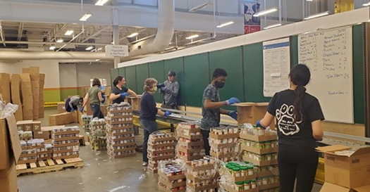 The Capital Area Food Bank in Maryland is receiving a $400,000 grant this month. (Capital Area Food Bank)