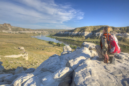 Two-thirds of Montana public lands leased for oil and gas development are sitting idle. (Bob Wick/BLM)