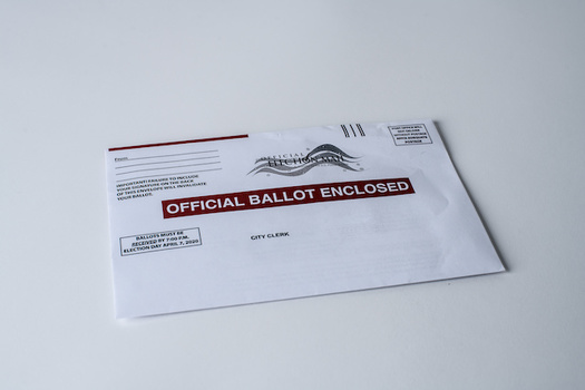 A new poll finds many Montanans don't feel safe going to a polling place and would rather vote by mail this November. (Alcorn Imagery/Adobe Stock)