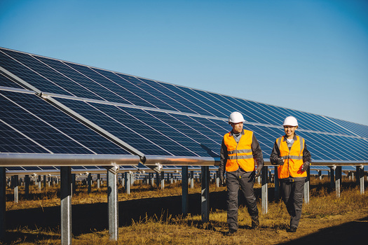 The blueprint calls for creating sustainable jobs while cutting greenhouse-gas emissions. (agnormark/Adobe Stock)
