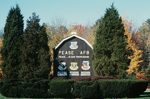 The nation's first study of PFAS contamination is centered at the site of the former Pease Air Force Base in New Hampshire. (Master Sgt. Dave Casey/Wikimedia Commons)