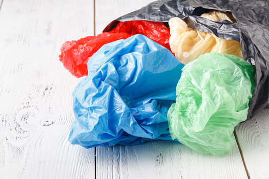 Researchers estimate about 8 million metric tons of plastic enter the ocean every year. (Adobe Stock)