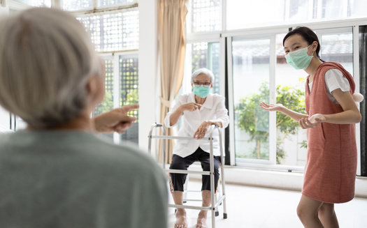 Minnesota health officials say in early May, an average of 23 long-term care facilities were reporting a new coronavirus per day. That average has now fallen to six per day. (Adobe Stock)
