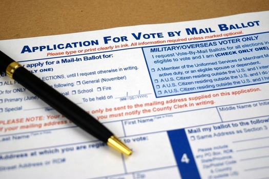 A lawsuit contends the pandemic will make it more difficult for Indiana voters to comply with a noon Election Day receipt deadline for mail-in ballots. (Adobe Stock)
