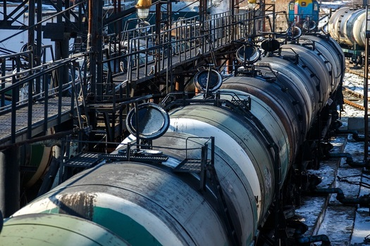 The Uinta Basin Railway was designed to transport crude oil from production fields across rural Utah to refineries in nearby states. (alexhiotrov/Adobe Stock)