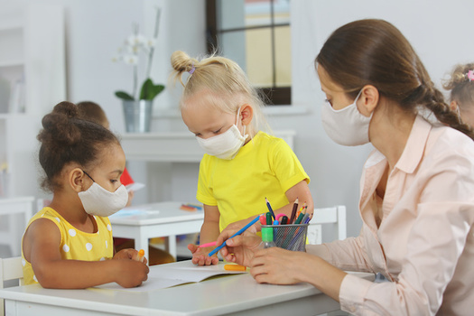 School reopening guidance includes best practices for social distancing, face masks and cleaning classrooms. (ShunTerra/Adobe Stock)