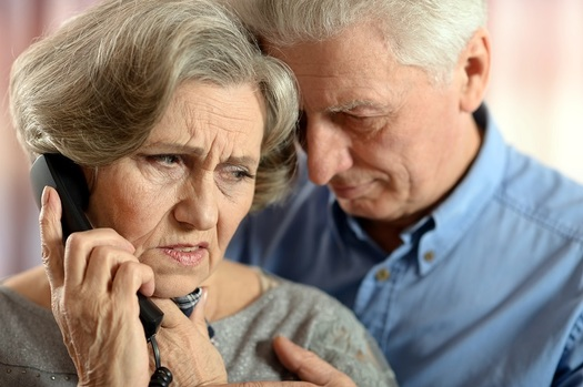 """Advocates warn that seniors are being targeted by the """"Impostor Scam,"""" in which con artists try to convince them their COVID-19 test results are in to steal valuable personal health information. (aletta2011/Adobe Stock)"""