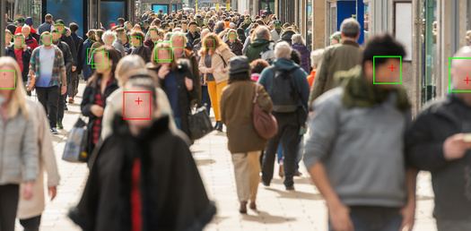 One study concludes facial-recognition technology was up to 100 times more likely to misidentify people of color. (Leszek/Adobe Stock)