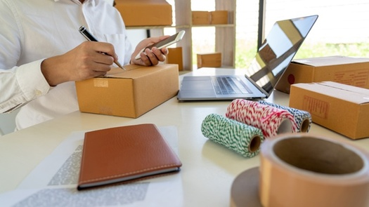 Some small businesses are heavily reliant on the U.S. Postal Service to get product to customers during the pandemic. (Adobe Stock)