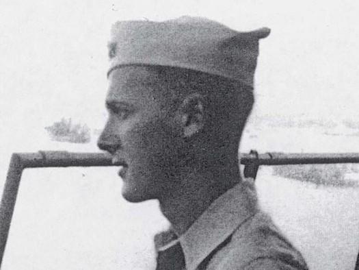 Retired Navy Lt. (J.G.) Robert Pennoyer served in Japan during and after the surrender in 1945. (Robert Pennoyer)