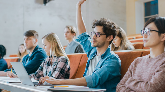 """A CSU professor says after taking her sociology course, about one in four students reports they've learned to be """"more tolerant of people who are different from me.""""  (Gorodenkoff/Adobe Stock)"""
