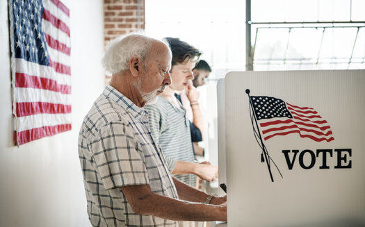A new poll from AARP says President Donald Trump is favored among likely male voters, but significantly trails former Vice President Joe Biden among likely female voters. (Adobe Stock)