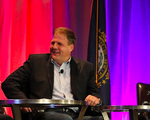 In a proclamation about suicide prevention, Gov. Chris Sununu included legislative accomplishments this year, from suicide education in schools to help for first responders affected by PTSD. (New Hampshire Governor's Forum/Wikimedia)