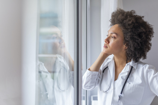 More than half of U.S. physicians have personally treated someone with COVID-19. (Adobe Stock)