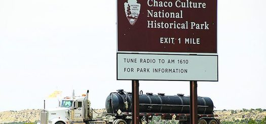 A bill to prevent any future leasing or mineral development on federal lands within a 10-mile radius around Chaco National Historical Park passed in the U.S. House earlier this year, but stalled in the Senate. (riograndesierraclub.org)