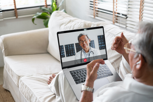 Six in ten seniors say they are embracing technology more since the pandemic began. (Adobe Stock)