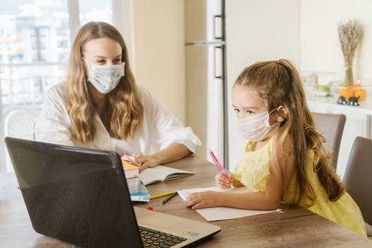 Ohio Children Services workers have added some new priorities during the pandemic, including helping families whose kids are struggling with online classes. (Adobe Stock)
