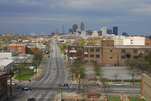 Roughly 114,000 people in Cleveland are living below the federal poverty line. (Nitram242/Flickr)