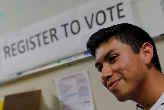A U.S. district judge ruled last month that Texas is violating the federal National Voter Registration Act by not allowing residents to register to vote when they go online to update their driver's license information. (nationalcatholicreporter.org)