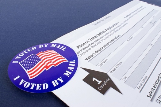Illinois has nearly two million requests for mail-in-ballots. (AdobeStock)