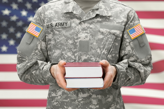 The College of William and Mary's business school is establishing a new veterans center as part of an initiative to help ex-military folks transition into the workforce. (Adobe stock)