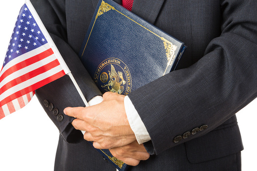 USCIS said it naturalized 834,000 new citizens in 2019, which represents an 11-year high in new oaths of citizenship. (Adobe Stock)