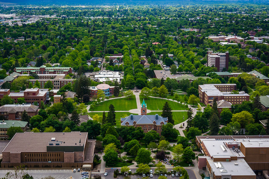 The University of Montana is holding satellite voting events Tuesday through Friday this week. (jonbilous/Adobe Stock)
