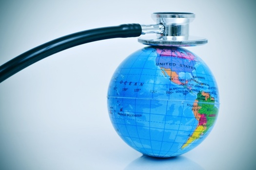 Hundreds of medical professionals say curbing climate change is a matter of public health. (Adobe Stock)