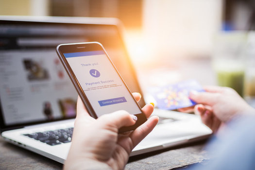 The Better Business Bureau says using a credit card is safer than a debit or gift card when purchasing holiday gifts over the internet. (Mymemo/Adobestock)